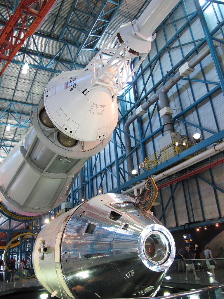 Apollo Saturn V Center Ksc W J Construction